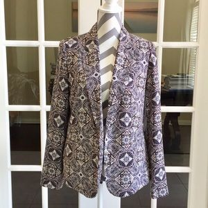 ❤️BNWT Forever21 abstract  Career Blazer❤️size:M